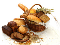 продукты хлеба различные Стоковые Фото