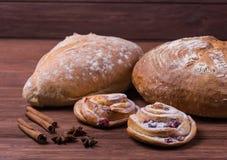 продукты хлебопекарни свежие Стоковое Изображение RF