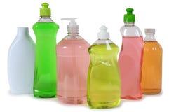 продукты чистки стоковое фото rf
