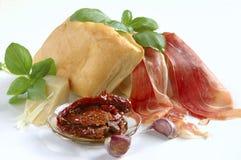 продукты bruschetta свежие Стоковые Изображения