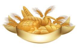 продукты s хлебопекарни иллюстрация вектора