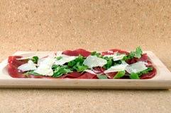 продукт итальянки bresaola Стоковые Изображения