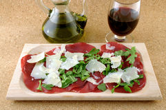 продукт итальянки bresaola Стоковые Фото