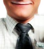 продукт стеклянного человека молокозавода угождаемый Стоковые Фотографии RF