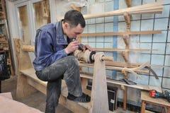 Продукция арфы музыкального инструмента Стоковое Изображение