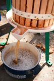 продукция сидра яблока Стоковая Фотография RF