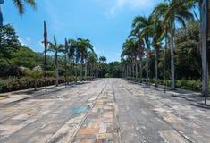 Проезжая часть в Santa Marta стоковое изображение