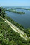 Проезжая часть Миссиссипи Стоковые Фото