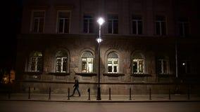 Проезжий ночи Стоковая Фотография RF