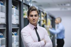 проектирует сервера комнаты сети Стоковые Изображения