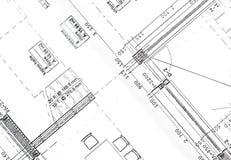 проект жилищного строительства Стоковое Изображение