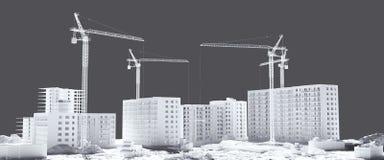 Проект здания Стоковые Фотографии RF
