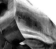 Проект музыки опыта (EMP) в Сиэтл Стоковое фото RF