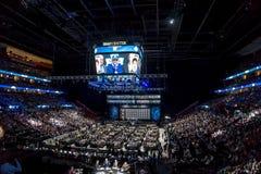 2015 проект NHL - Митчел (Mitch) Marner - 4-ый выбор Стоковые Фото
