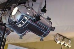 Прожектор RGB Оборудование освещения для концертов Стоковое фото RF