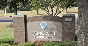 Прожитие Elmcroft старшее, Мемфис, TN Стоковые Фотографии RF