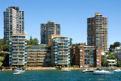 прожитие harbourside Стоковые Фото
