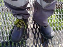 Прозодежды работника нефтедобывающей промышленности Стоковые Фото