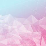 Прозрачная предпосылка кристаллической структуры яркая иллюстрация вектора