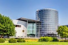 Прозрачная фабрика в Дрездене Стоковая Фотография RF