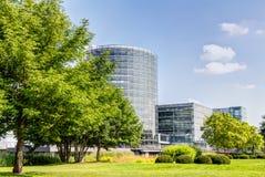 Прозрачная фабрика в Дрездене Стоковое Изображение RF