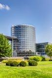 Прозрачная фабрика в Дрездене Стоковые Изображения RF