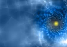 прозрачное абстрактной предпосылки голубое Стоковые Фотографии RF