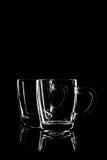 Прозрачное стекло для чая Стоковые Фотографии RF