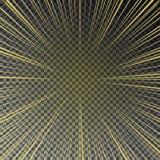 Прозрачное яркое солнце светит на checkered предпосылке Стоковое Изображение RF