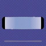 Прозрачные изолированные знамена также вектор иллюстрации притяжки corel Стоковые Фото
