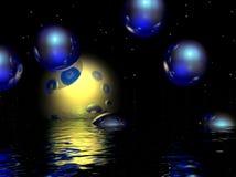 Прозрачные сферы Стоковая Фотография RF