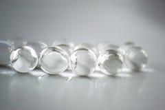 Прозрачные шарики стоковая фотография
