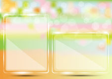 Прозрачный графический дизайн Стоковое Изображение