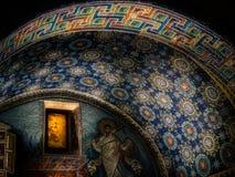 Произведение искусства на потолке церков стоковое изображение