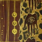 произведение искысства Африки handmade