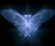 произведенная фракталь бабочки Стоковые Фотографии RF