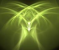 произведенная фракталь орла Стоковое Фото