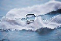 произведенное 3d венчание кольца изображения Wedding символы, атрибуты Праздник, торжество Стоковая Фотография RF