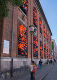 Произведение искусства Ai Weiwei, Копенгаген, Дания Стоковое Изображение RF