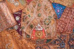 Произведенная ткань от Непала. Стоковые Фотографии RF