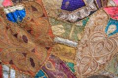 Произведенная ткань от Nepal-1 Стоковая Фотография