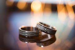 произведенное 3d венчание кольца изображения Стоковые Фотографии RF