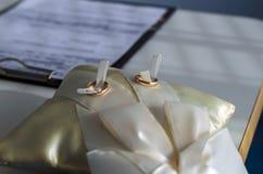 произведенное 3d венчание кольца изображения Стоковая Фотография