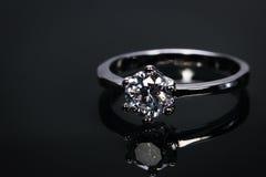 произведенное 3d венчание кольца изображения Стоковое Изображение