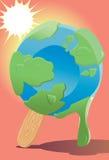 производит эффект мир глобального потепления Стоковые Фото