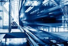 Производственная линия автомобиля Стоковая Фотография RF