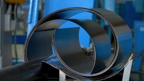 Производство стали на фабрике видеоматериал