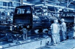 Производственная линия тележки Ickup Стоковые Фото