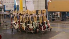 Производство гитары Стоковое Фото