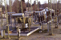 Производство электроэнергии Стоковые Изображения